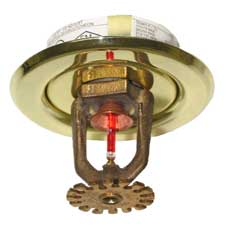 Fire Busters Vancouver, Burnaby, Delta,Tyco bulb sprinkler, call us today