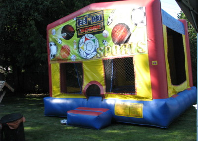 Fire Busters Vancouver, Burnaby, Delta bouncy castle call us today