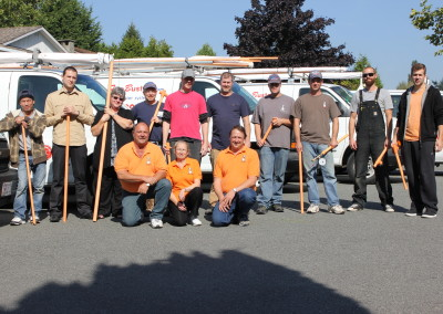 Fire Busters Vancouver, Burnaby, Delta ,group portrait, call us today