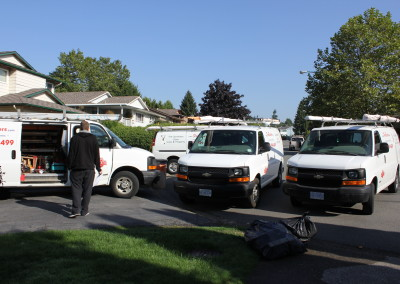 Fire Busters Vancouver, Burnaby, Delta service cars, call us today