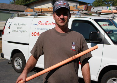 Fire Busters Vancouver, Burnaby, Delta portrait, call us today